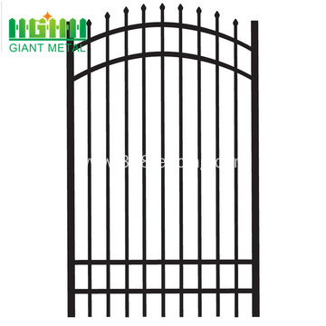Powder Coated Zinc Steel Fence for price