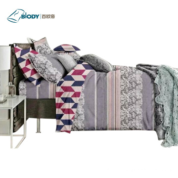 ODM for Cotton Terry Cloth Blanket Polyester Luxury King Size Home Linen Bedding Set supply to India Manufacturer