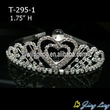 2018 Heart Wedding Tiara Combs