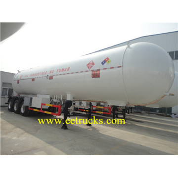54000 Liters Tri-axle LPG Tank Trailers