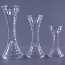 Glass Diamond Pillar Holder