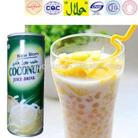 high protein kelapa juice 240ml/can good flavour
