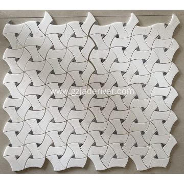 Different Shapes Stone Mosaic Building Material