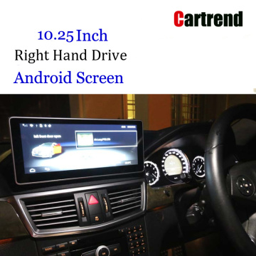 Android screen for RHD E Class 10-12