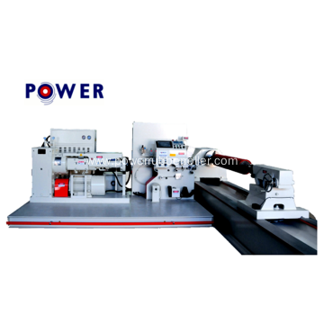 Cylindrical Rubber Roller Winding Machine
