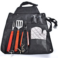 7Pieces BBQ Grill Tools Stainless Steel Utensils