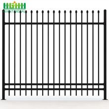 Wrought Iron Steel Tubular Prefab Picket Fence Panels