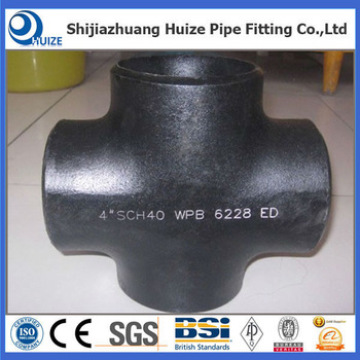 Butt weld cross pipe fittings