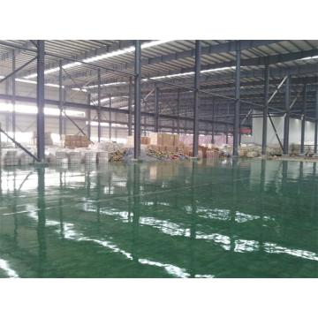 Factory epoxy self-leveling thin coating floor paint