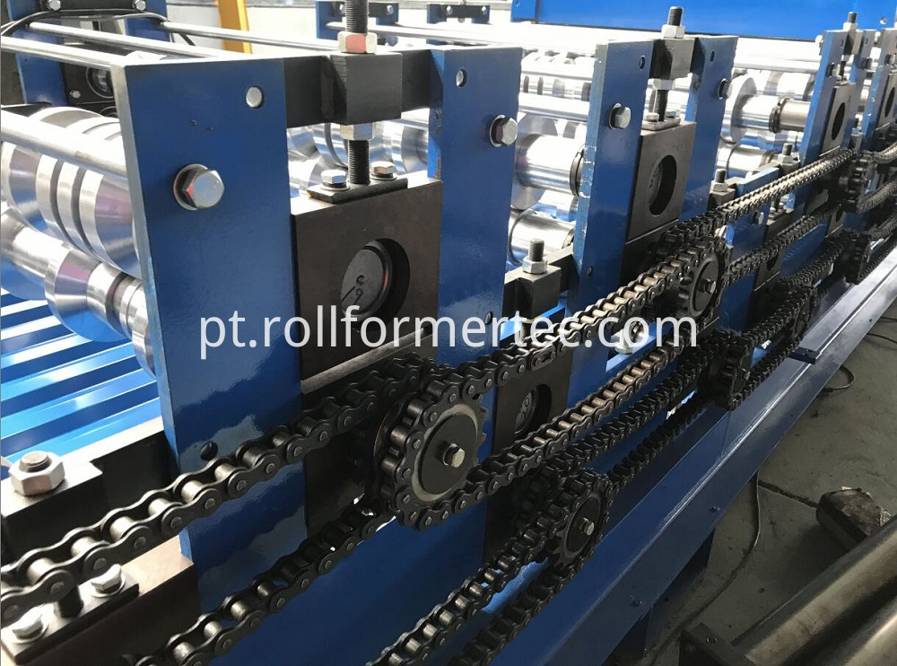 double layer roofing panel rollforming line (8)
