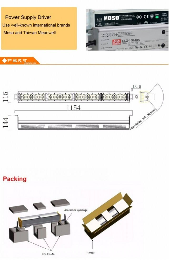 Linear LED Bay Light 200W