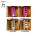 Multi-purpose wardrobe closet fabric hanging closet shelf organizer
