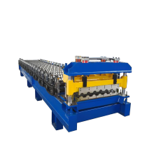 China New Product for Antique Glazed Tile Roll Forming Machine Glazed Aluminum Steel Roof Roll Forming Machine supply to Solomon Islands Importers