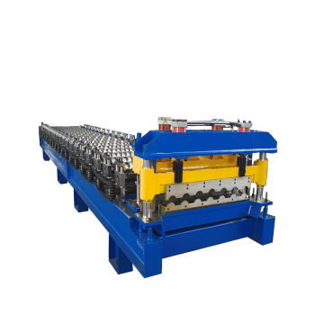 Discountable price for Glazed Tile Roll Forming Machine Glazed Aluminum Steel Roof Roll Forming Machine export to Sri Lanka Importers