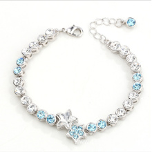 China for Lady Jewelry Fashion star rhinestones bracelets export to Botswana Factory