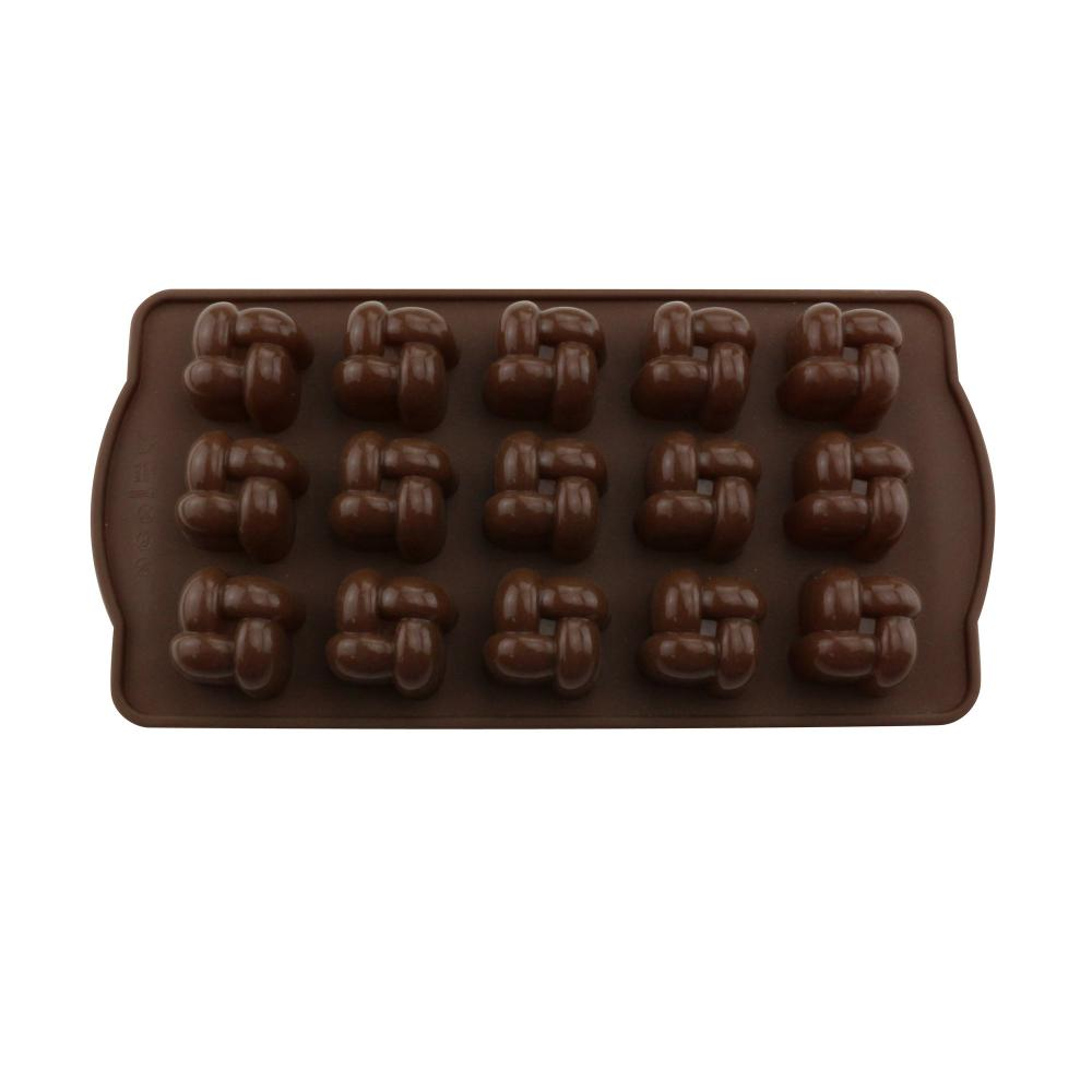 Kitchen baking tools silicone candy chocolate mold