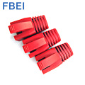 RJ45 Connector Boots  Red