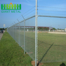 Galvanized playground chain link pvc coated mesh fence