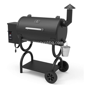 Outdoor Wood Pellet Grill 7-in-1 BBQ Smoker