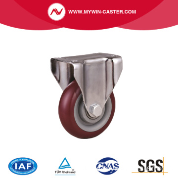 Medium duty PVC Caster with brake