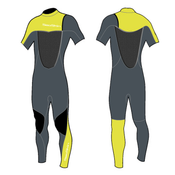 Seaskin Premium CR Short Sleeved Spring Wetsuit