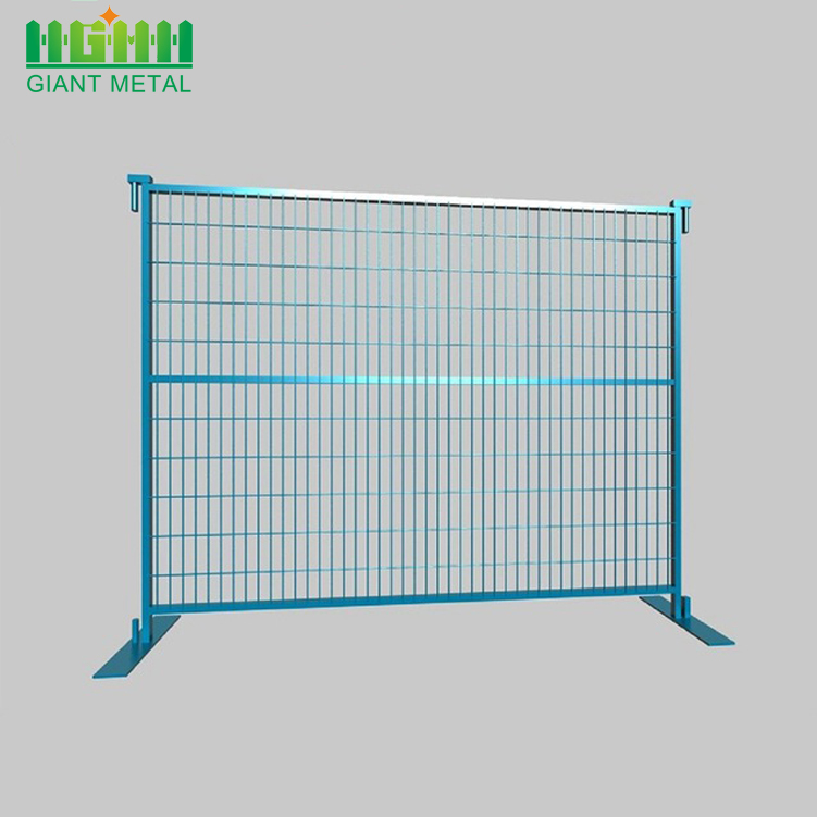 Canada Galvanized Temporary Used Welded Fence