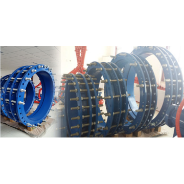 Large diameter Ductile iron dismantling joint