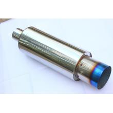 "Europe style for Universal Muffler,Motorcycle Exhaust Muffler,Car Muffler Manufacturer in China 5.5"" Universal Exhaust Muffler supply to Oman Wholesale"