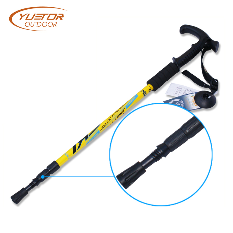 Adjustable pole trekking pole