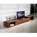 Flat Tv Stand with Shelves Cabinet