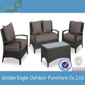PE Rattan with Aluminum Frame for outdoor use