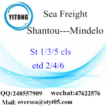 Shantou Port LCL Consolidation To Mindelo