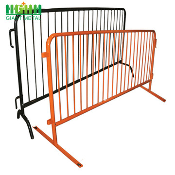Galvanized Standpipe Guardrail Crowd Control Barrier