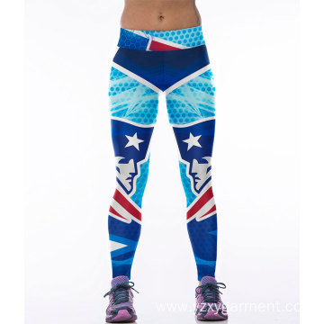 Tight legging football pants for women