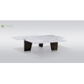Stylish Irregular Marble Dining Table