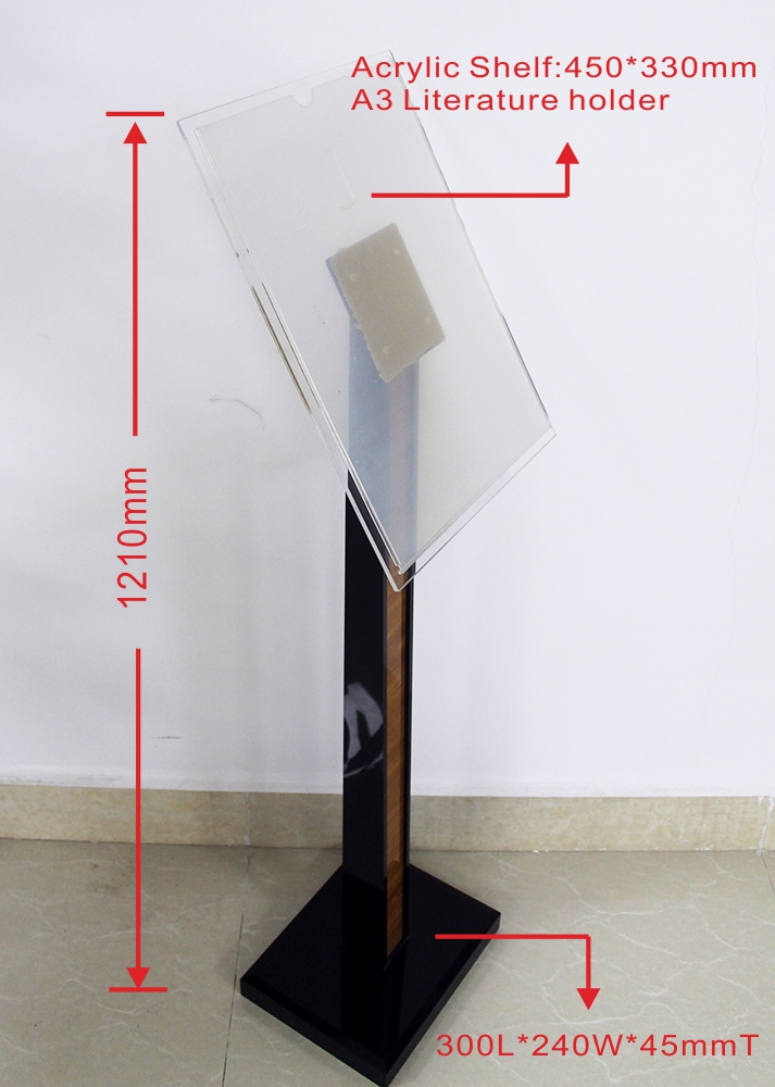 Ds V001 Sign Frame Display Stand