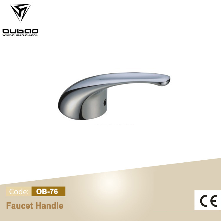Die Casting Faucet Handle Polished Chrome Mixer Lever