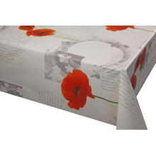 Elegant Tablecloth with Non woven backing Elastic