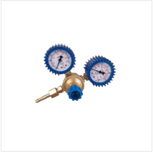 Light Brass Oxygen Regulator