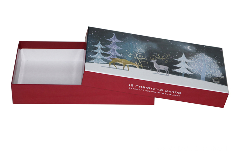 Custom Luxury Christmas Printed Gift Packaging Paper Box