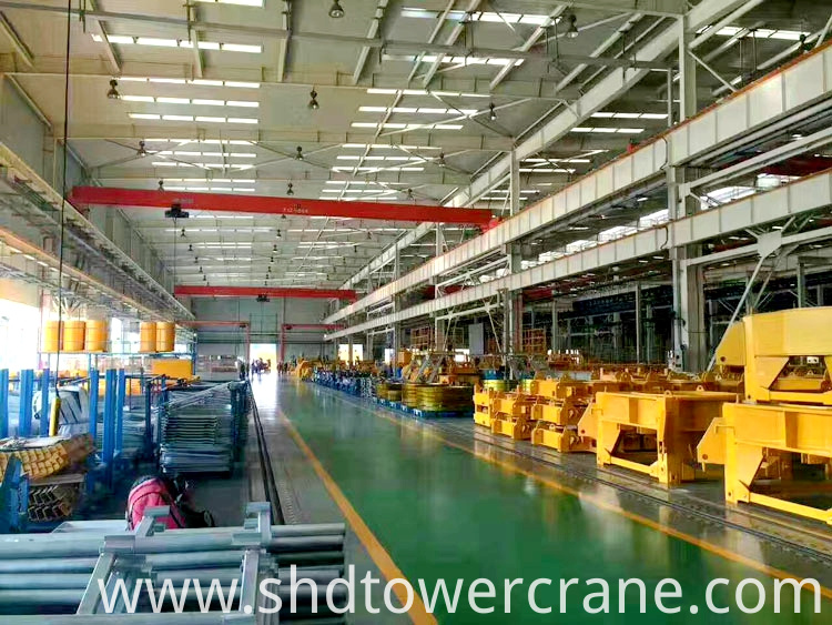 Model 6018 High Quality Topless Tower Crane
