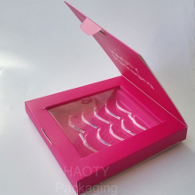 Renewable Design for Color Paper Packaging Box Custom your own brand 5 pairs lashes packaging supply to Italy Wholesale