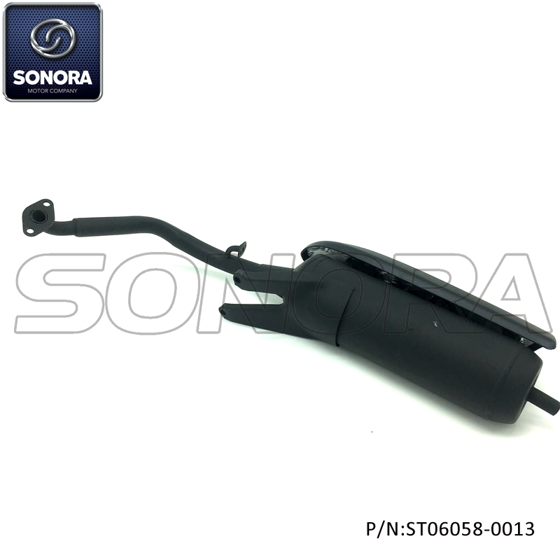 BAOTIAN Spare Parts BT125T-2 Exhaust (P/N:ST06058-0013) Complete Spare Parts High Quality