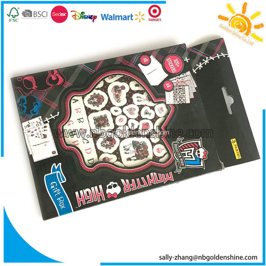 Sticker Gift Box Activity