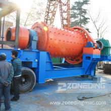 Small Wet Mobile Ball Grinding Mill Price