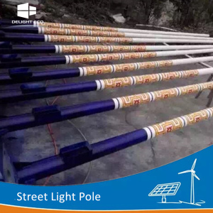DELIGHT Decorative Lighting Street Poles
