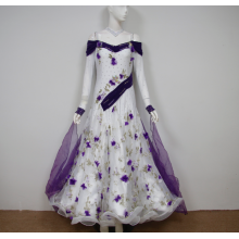 Purple ballroom dresses girls
