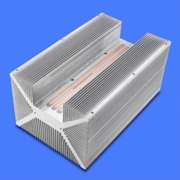 Water cooling plate for heat sink