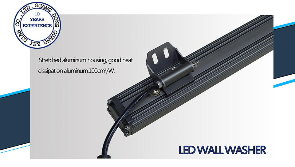 aluminum led wall washer