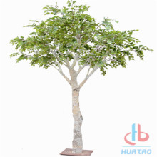 Flame Resistant Artificial Brich Tree